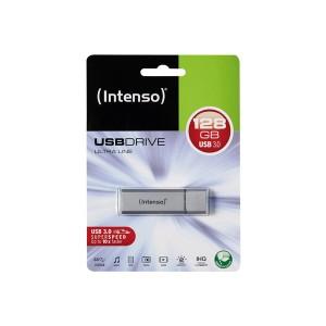 Speicherstick Ultra Line, USB 3.0, silber, Kapazität 128 GB