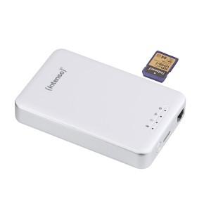"""Wi-Fi Festplatte 2,5"""" weiß USB 3.0, Speicherkapazität 1 TB"""