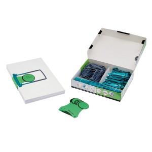 Jalema Archivset Clipex 100er Pack kompettes Set zum Leeren v Ordnern