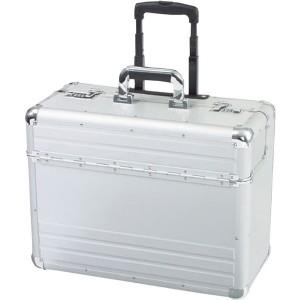 Alumaxx Pilotenkoffer OMEGA #45122 Aluminium silber