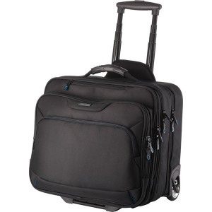 Lightpak Businesstrolley schwarz Nylon Außenmaß: ca. 42x38x29cm