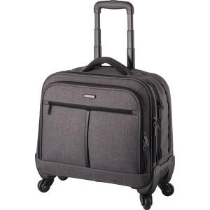 Lightpark Laptop Trolley grau, Polyester, Außenmaß: 37,5x44,5x21cm