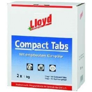 Lloyd Compact-Tabs mit eingebautem Klarspühler