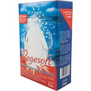 Spülmaschinensalz Regesoft, Premium- salz, grobkörnig, 100% löslich,