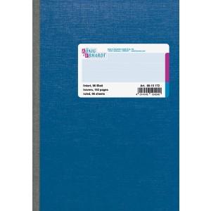 Kladde A5 liniert holzfrei 96 Bl. liniert=blau