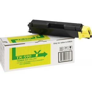 Toner-Kit TK-590Y gelb für FS-C2026MFP, FS-C2026MFP/KL3,