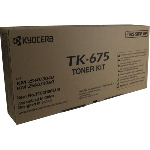 Toner-Kit TK-675 schwarz für KM 2540, 2560, 3040, 3060