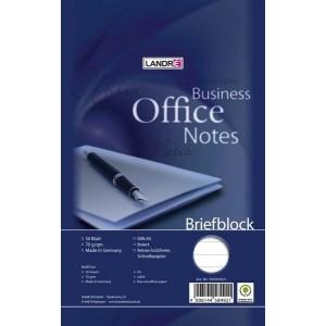 Briefblock Office A5/50 Bl., liniert, Lineatur 21, 70 g/qm