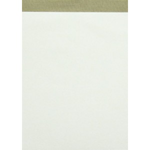 Notizblock, A6, 50 Blatt, 60g/qm, Lineatur 20, blanko, grau gefälzelt