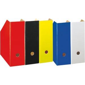 Stehsammler A4 rot, Pappe extra breit, Rückenbreite 11cm