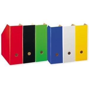 Stehsammler A4 gelb Pappe extra breit, Rückenbreite 11cm