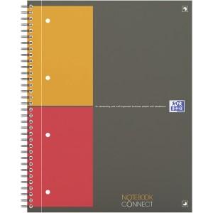 Collegeblock, A4+, 80 Blatt, kariert, mit Mikroperforation, Kopfzeile,