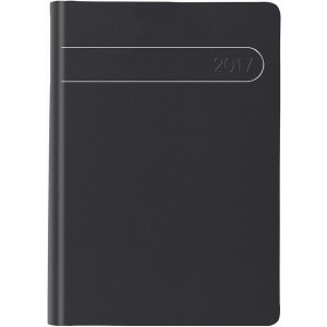 Taschenkalender 10,5 x 14,8 cm, schwarz # 717.506