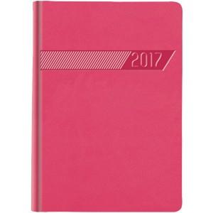 Taschenkalender 10,5 x 14,8 cm, pink # 717.511