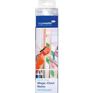 Magic Chart Whiteboard 20 x 30 cm, blanko, haftet ohne Kleber,