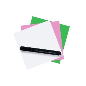 Magic Chart Notes 10 x 10cm,sortiert, haftet ohne Kleber, abwischbar,