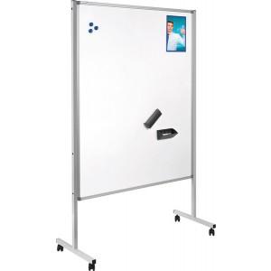 Magnetischer Flipchart-Blockhalter, Aluminium, Maße: 7 x 70 cm, für alle