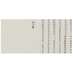 Papier Registerserie 6tlg. f. 6 Ordner 100g/qm Tauenpapier RC