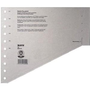 Staffel-Trennblätter aus Karton 100 Stück