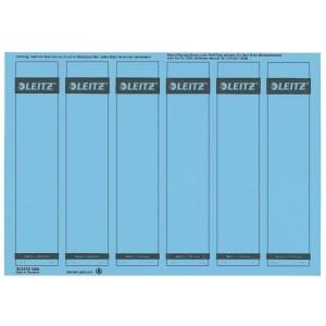 Rückenschilder I/K/L kurz/schmal blau 150 Stück