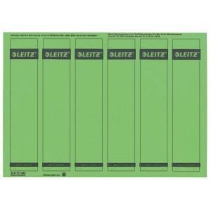 Rückenschilder I/K/L kurz/schmal grün 150 Stück