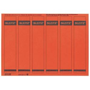 Rückenschilder I/K/L kurz/schmal rot 150 Stück