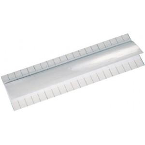 Beschriftungsstreifen 20x6cm, selbstklebend/transp.Schutzfolie