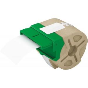 Karton-Etiketten 57 mm x 22 m, weiß. Geeignet für Einsteck-Namenschilder