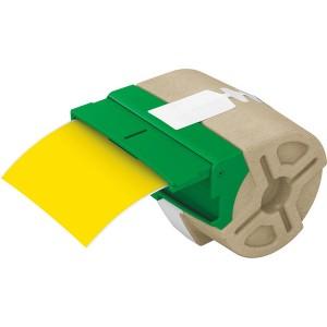 Endlosetikett 88mm x 10m, gelb, permanent haftend. Wasserfest und