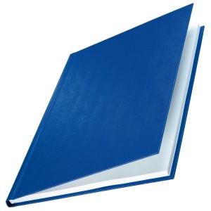 Buchbindemappe Hardcover A4 10,5mm Leinenüberzug matt blau