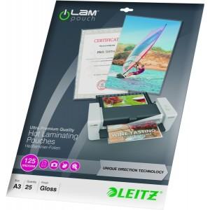 Laminier Folientaschen A3 UDT 125 mic glasklar