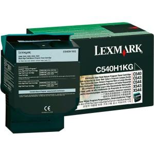 Rückgabe-Tonerkassette schwarz für C540, C543, C544, X543, X544