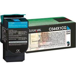 Rückgabe-Tonerkassette cyan für C544,X544