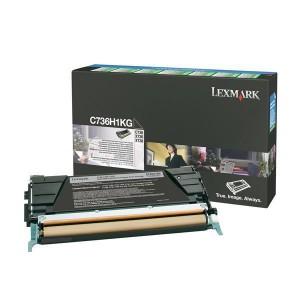Rückgabe-Tonerkassette schwarz für C736,X736,X738