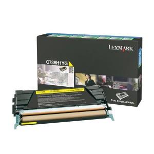Rückgabe Tonerkassette gelb für C736,X736,X738