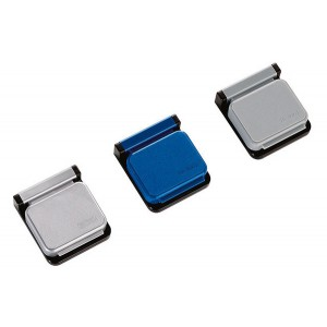 Planhalter Magnetclip S 10St gr Magnetschnapp-Automatik selbstkleb