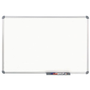 Whiteboard MAULoffice 100/150cm gr Alurahmen Fläche kunststoffbesch.