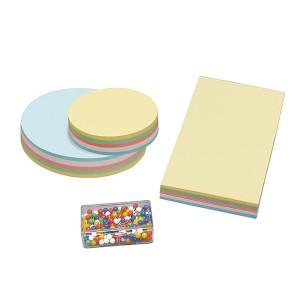 Moderationszubehör Karten Nadeln