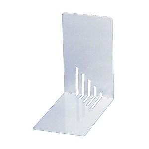 Buchstütze Metall weiß schmal 14x14x8,5cm, 1 Paar