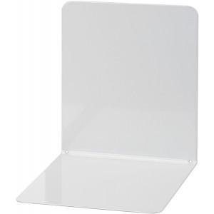 Buchstütze Metall grau breit 14x14x13cm, 1 Paar