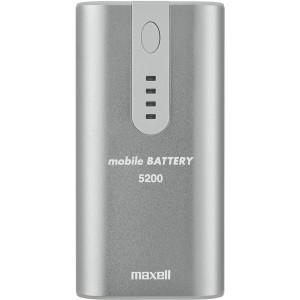 Rechargeable Powerbank silber externer Batteriensatz Li-Ion 5200mAh