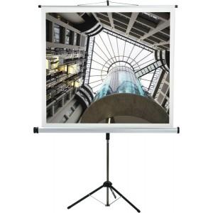 Medium Stativ-Leinwand 150x150cm Langsames Tuchschonendes u. geräusch-