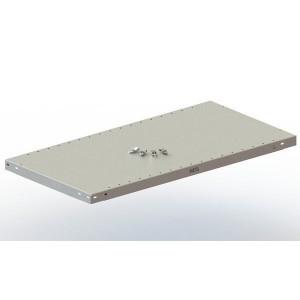 Zusatzboden Steckregal Set V150 Meta Maße H40 x L1000 x T500mm