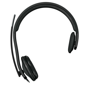 Headset, LifeChat LX-4000, höhenverstellbares Mikrofon mit