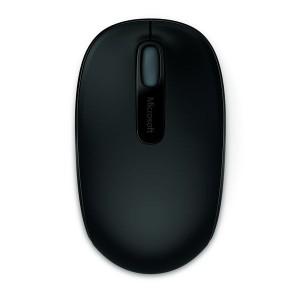 Mobile Mouse 1850, kabellos, schwarz für Links- und Rechtshänder