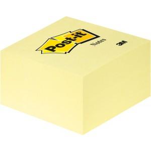 Post-it Notes Würfel gelb 450 Bl. 76x76mm gelb