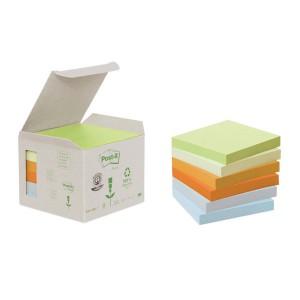 Post-it Notes Recycling Mini Tower Pastell 38x51mm, 100 Blatt/Block