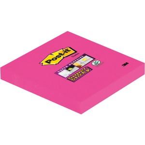 Post-it® Super Sticky Notes #654SPI 1 Block á 90 Blatt, ultrapink,