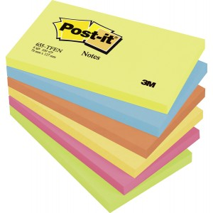 Post-it Notes Active Collection 76 x 127 mm