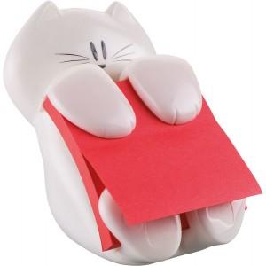 Post-it Z-Notes Spender Cat-330 inkl. 1 Block 76x76 mohnrot